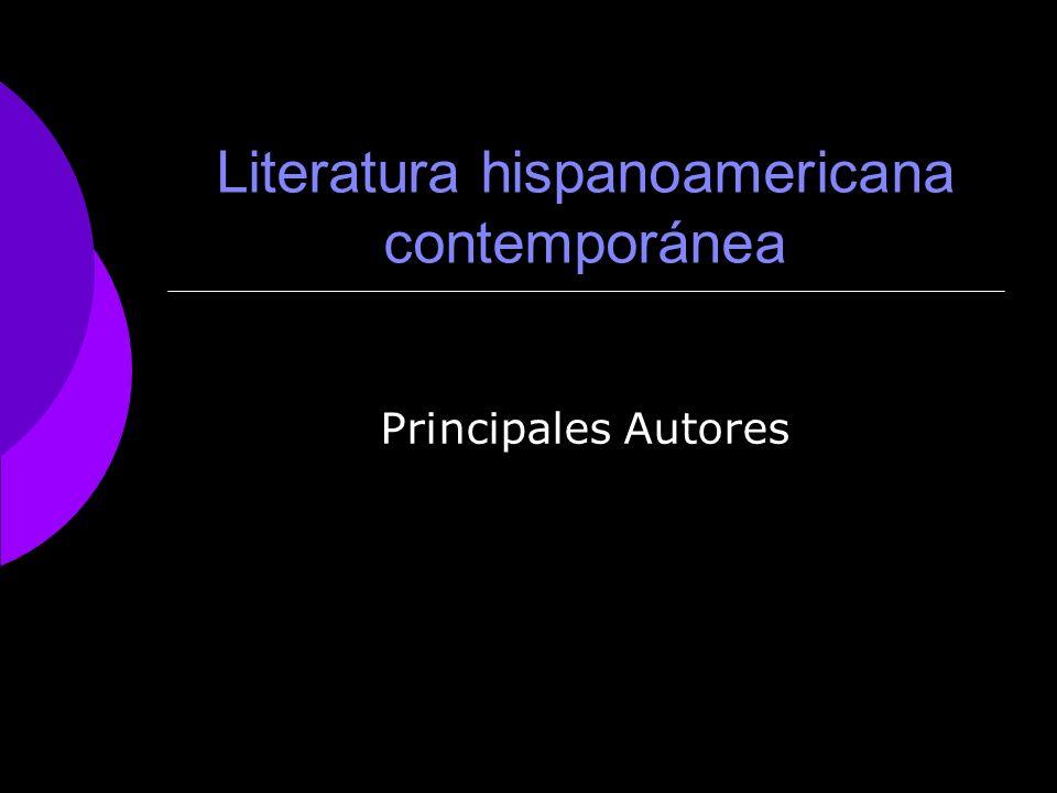 Literatura hispanoamericana contemporánea