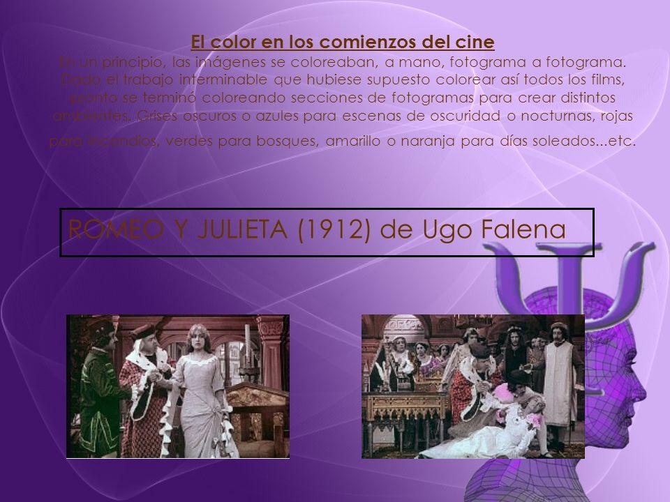 ROMEO Y JULIETA (1912) de Ugo Falena
