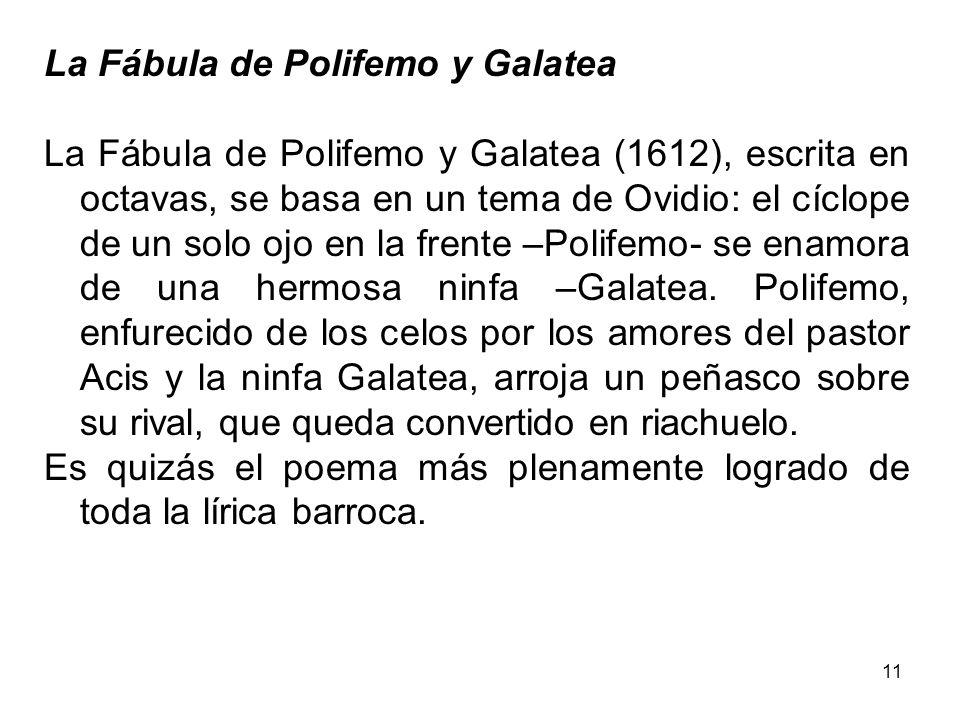 La Fábula de Polifemo y Galatea