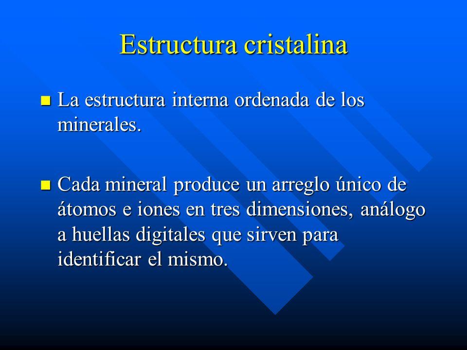 Estructura cristalina