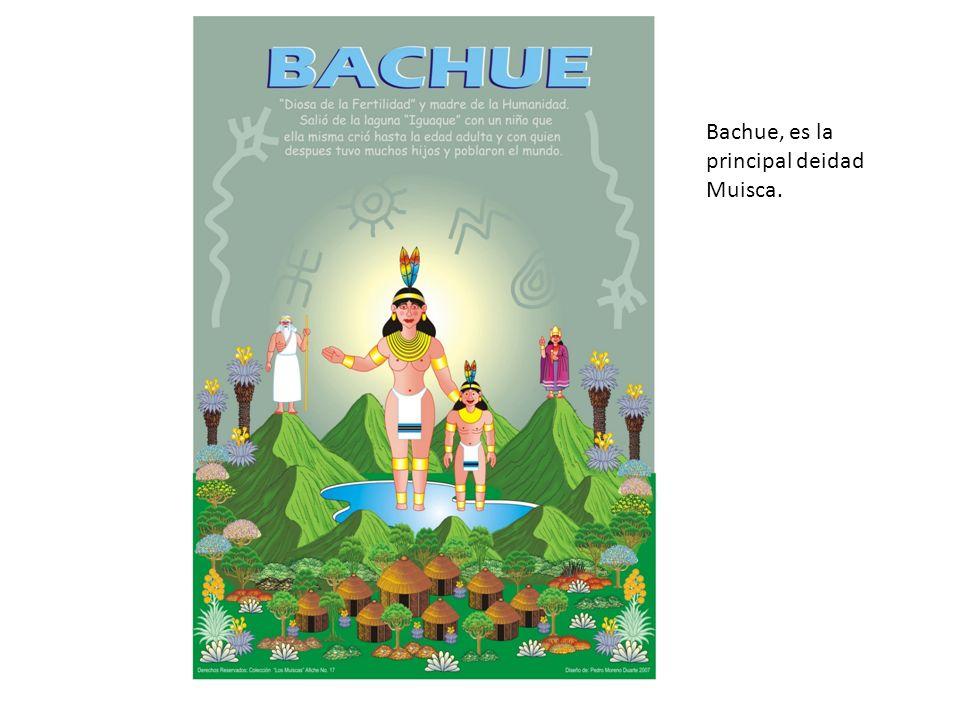 Bachue, es la principal deidad Muisca.