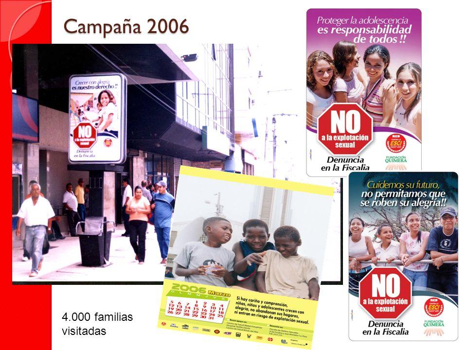 Campaña 2006 4.000 familias visitadas
