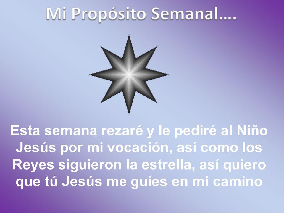 Mi Propósito Semanal….