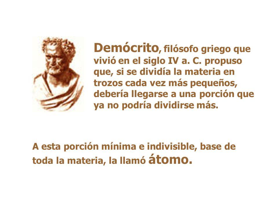 Demócrito, filósofo griego que vivió en el siglo IV a. C