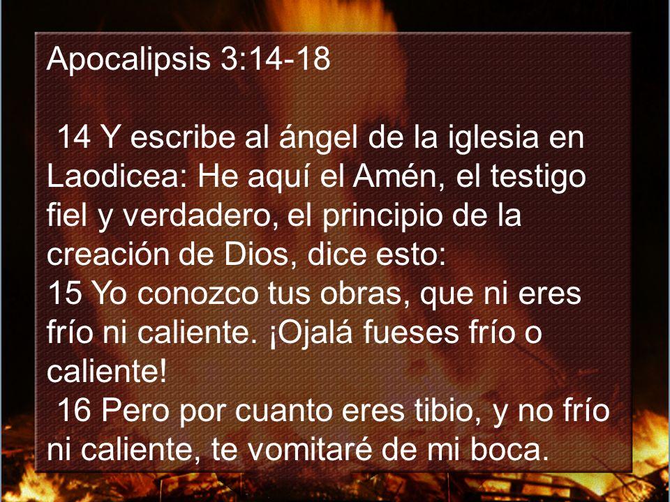 Apocalipsis 3:14-18