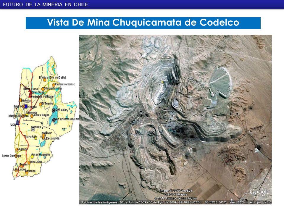Vista De Mina Chuquicamata de Codelco