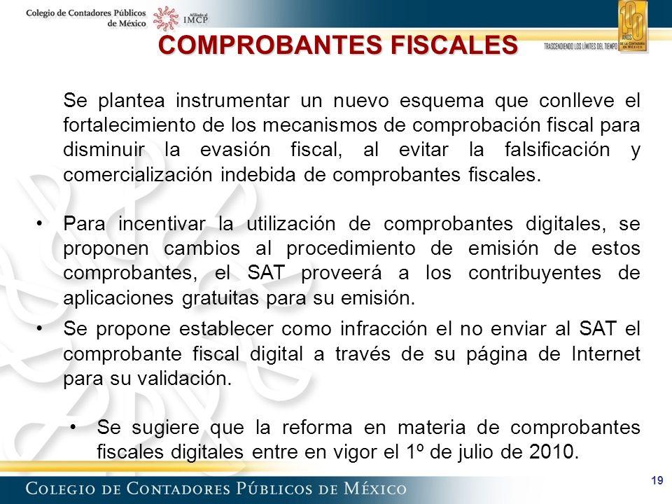 COMPROBANTES FISCALES