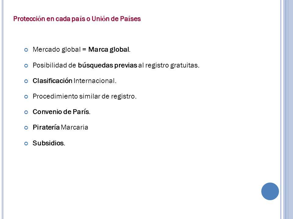 Mercado global = Marca global.