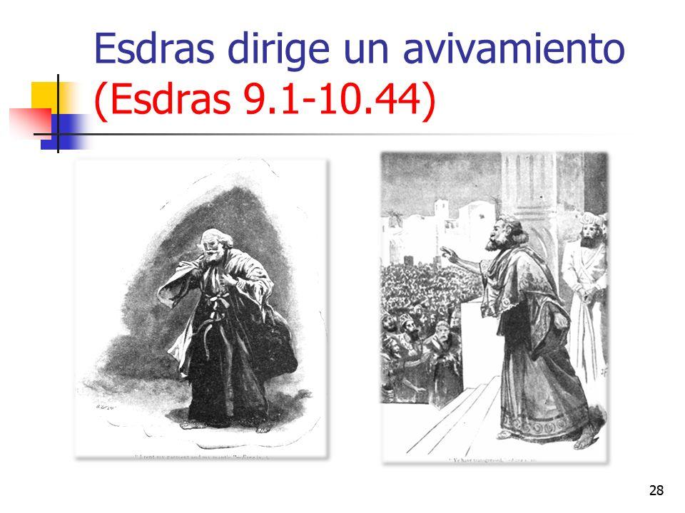 Esdras dirige un avivamiento (Esdras 9.1-10.44)