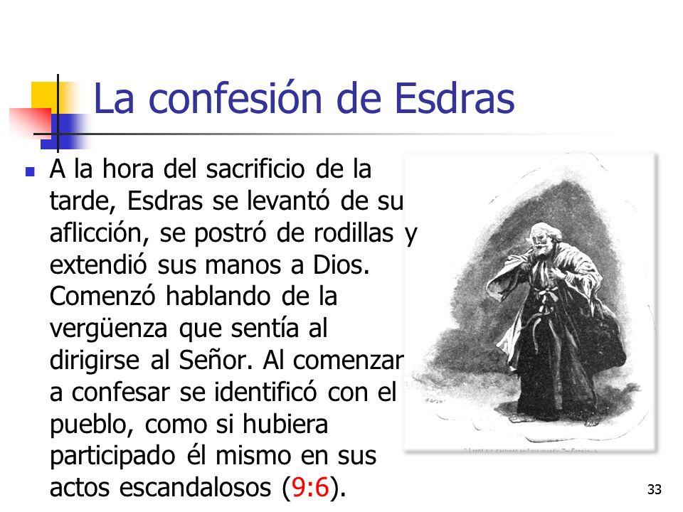 La confesión de Esdras