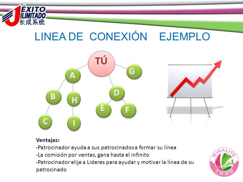 LINEA DE CONEXIÓN  EJEMPLO