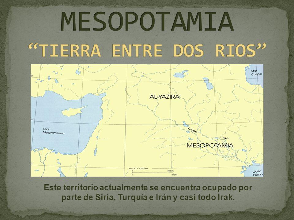 MESOPOTAMIA TIERRA ENTRE DOS RIOS