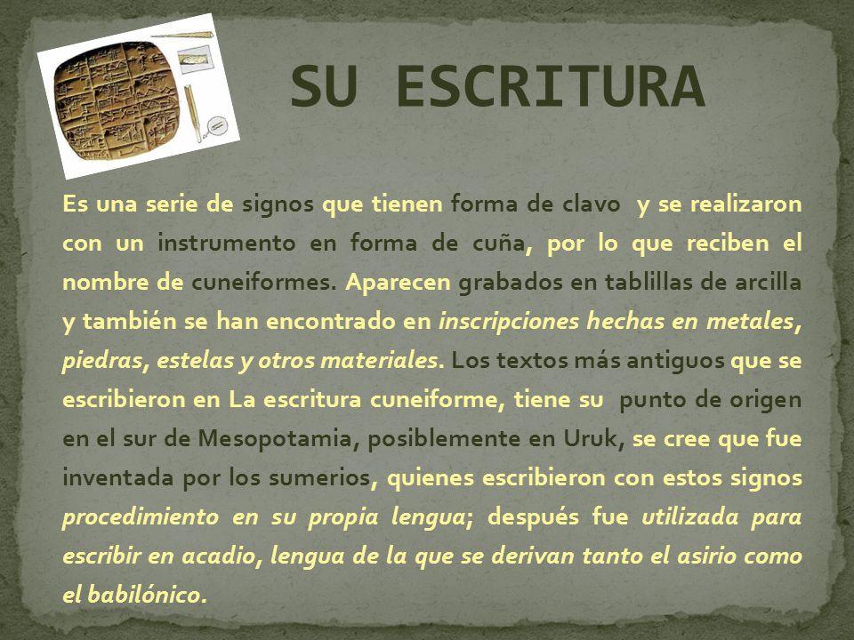 SU ESCRITURA
