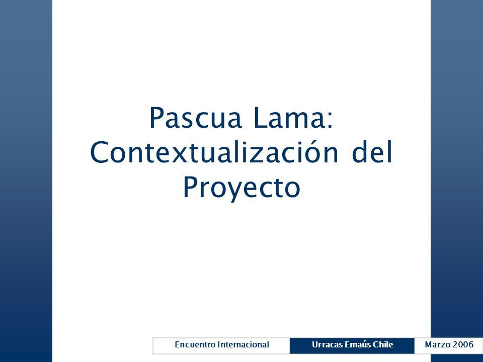 Pascua Lama: Contextualización del Proyecto