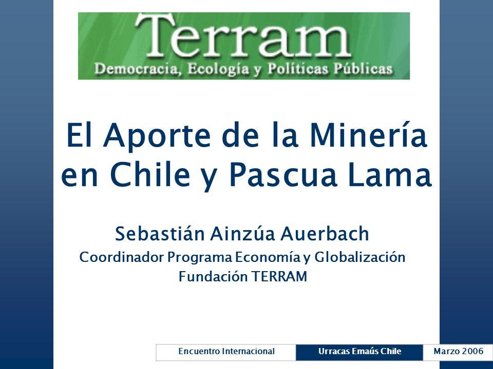 El Aporte de la Minería en Chile y Pascua Lama