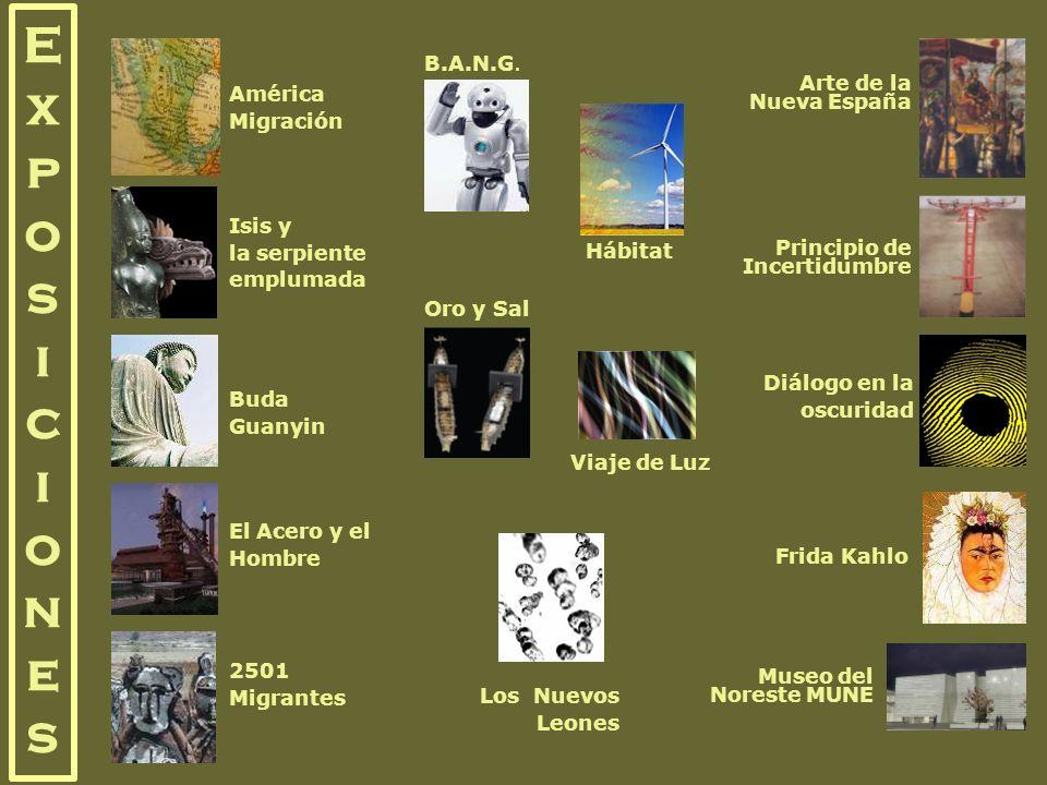 E x p o s i c i o n e s B.A.N.G. Arte de la Nueva España América