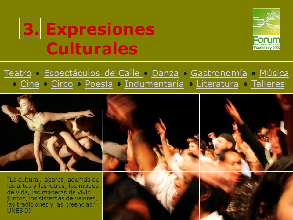 3. Expresiones Culturales