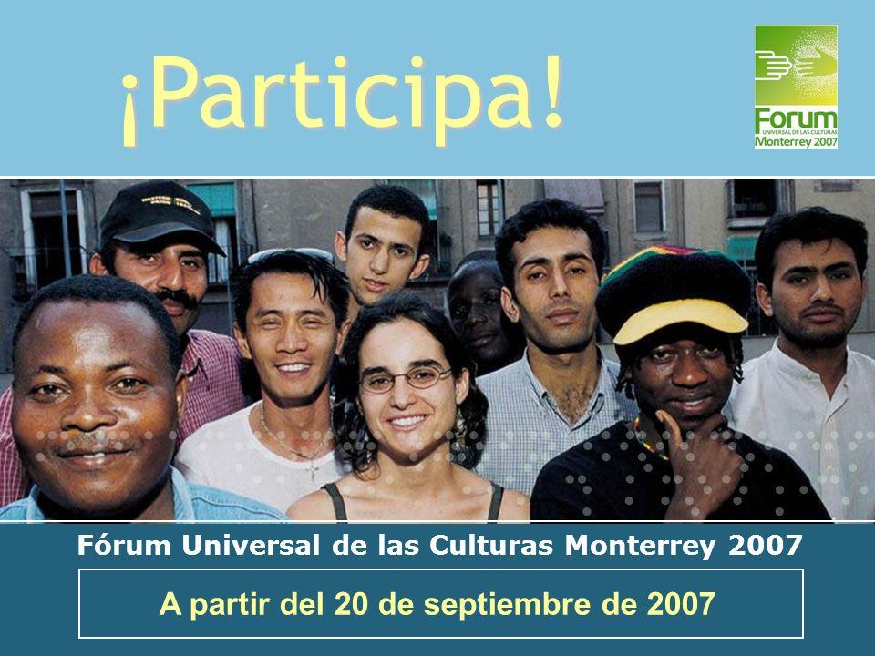 ¡Participa! A partir del 20 de septiembre de 2007