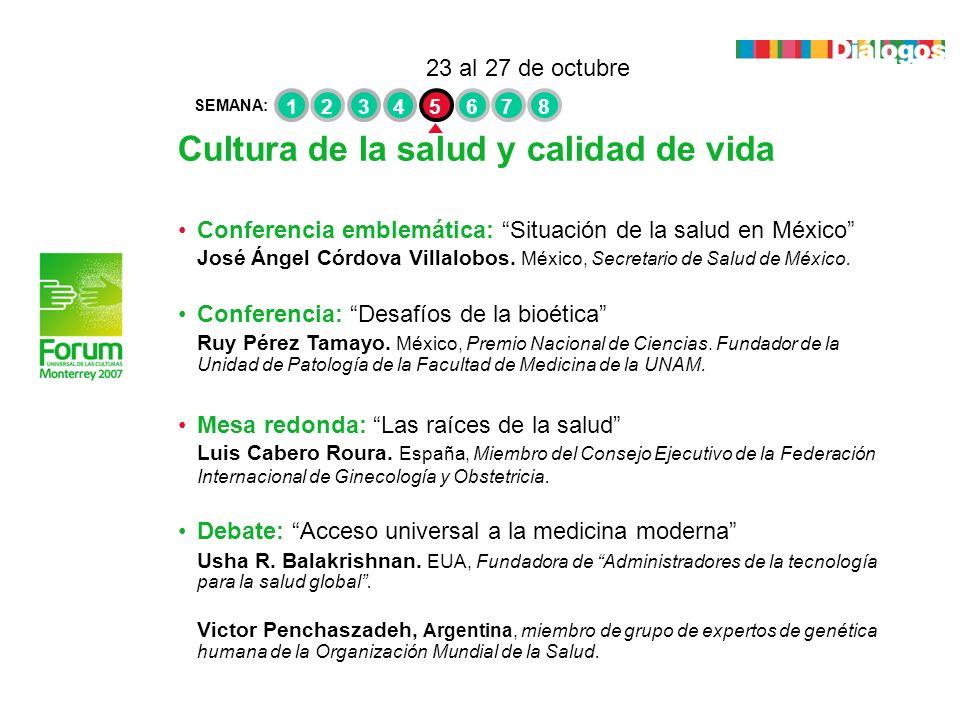 Cultura de la salud y calidad de vida