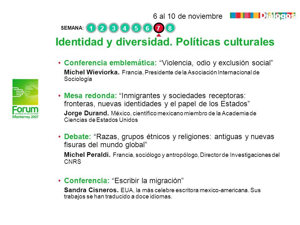 Identidad y diversidad. Políticas culturales
