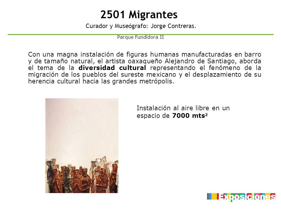Curador y Museógrafo: Jorge Contreras.
