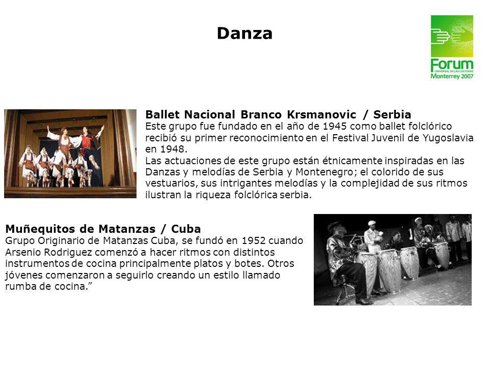 Danza Ballet Nacional Branco Krsmanovic / Serbia