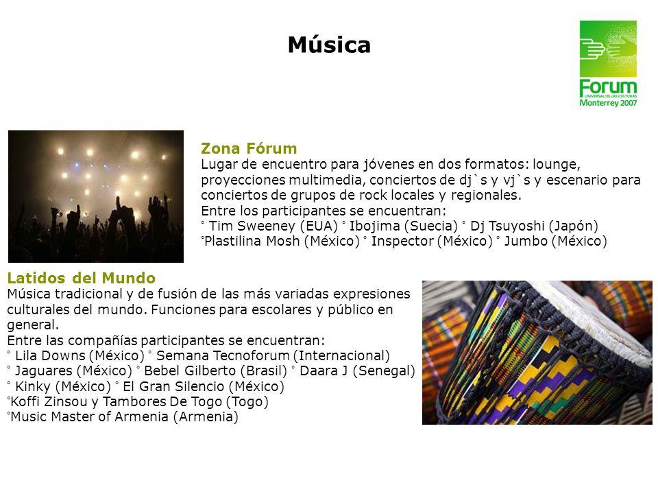 Música Zona Fórum Latidos del Mundo