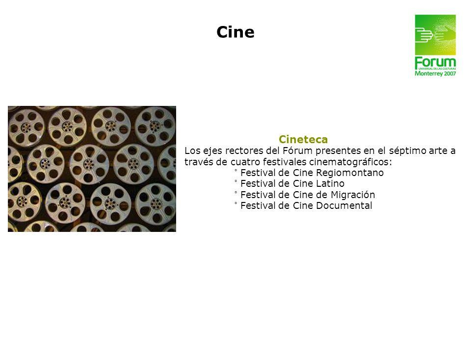 Cine Cineteca. Los ejes rectores del Fórum presentes en el séptimo arte a. través de cuatro festivales cinematográficos: