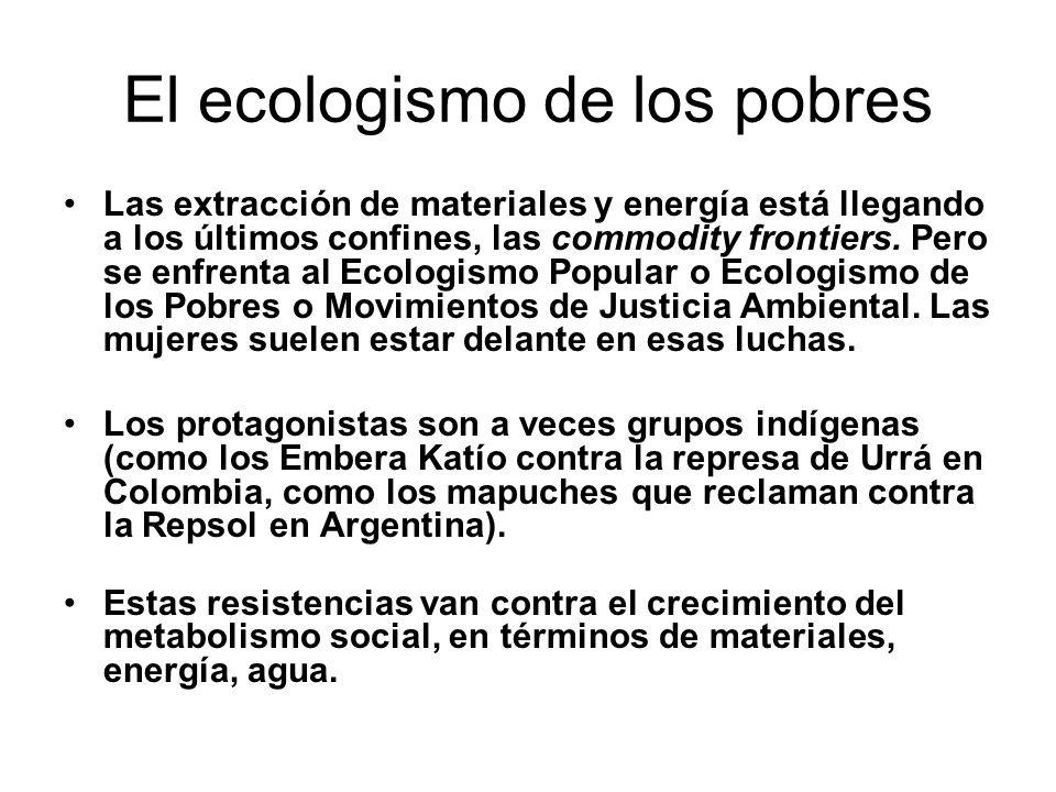 El ecologismo de los pobres
