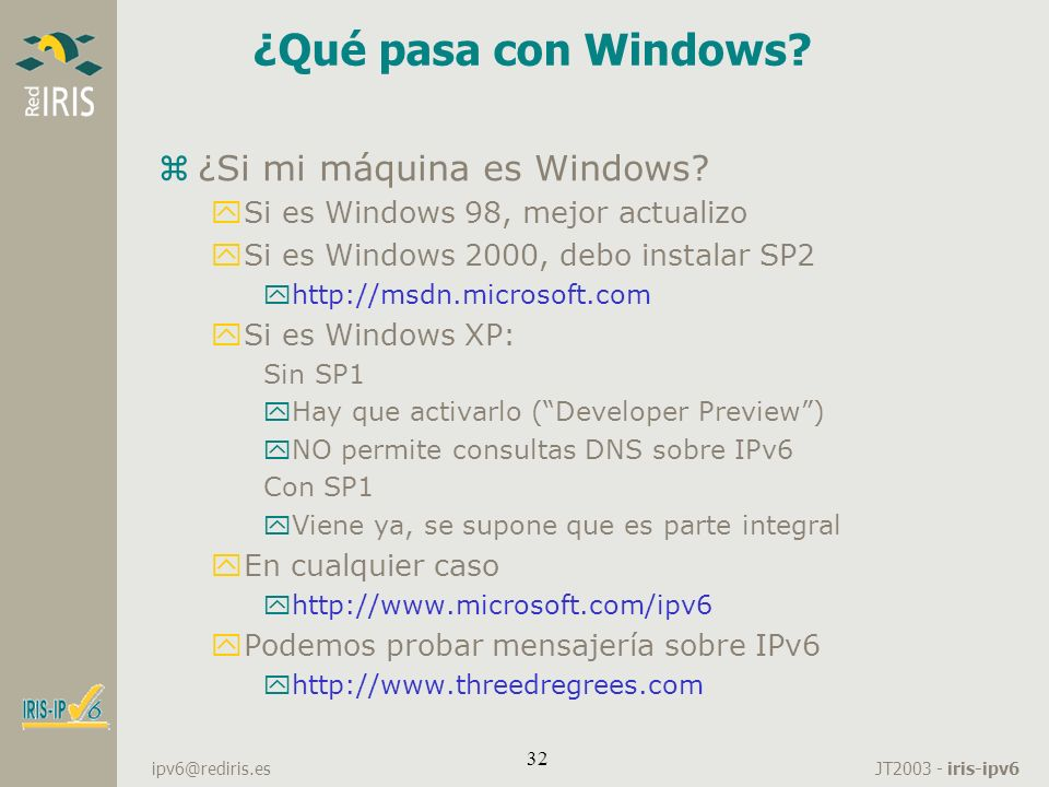 ¿Qué pasa con Windows ¿Si mi máquina es Windows