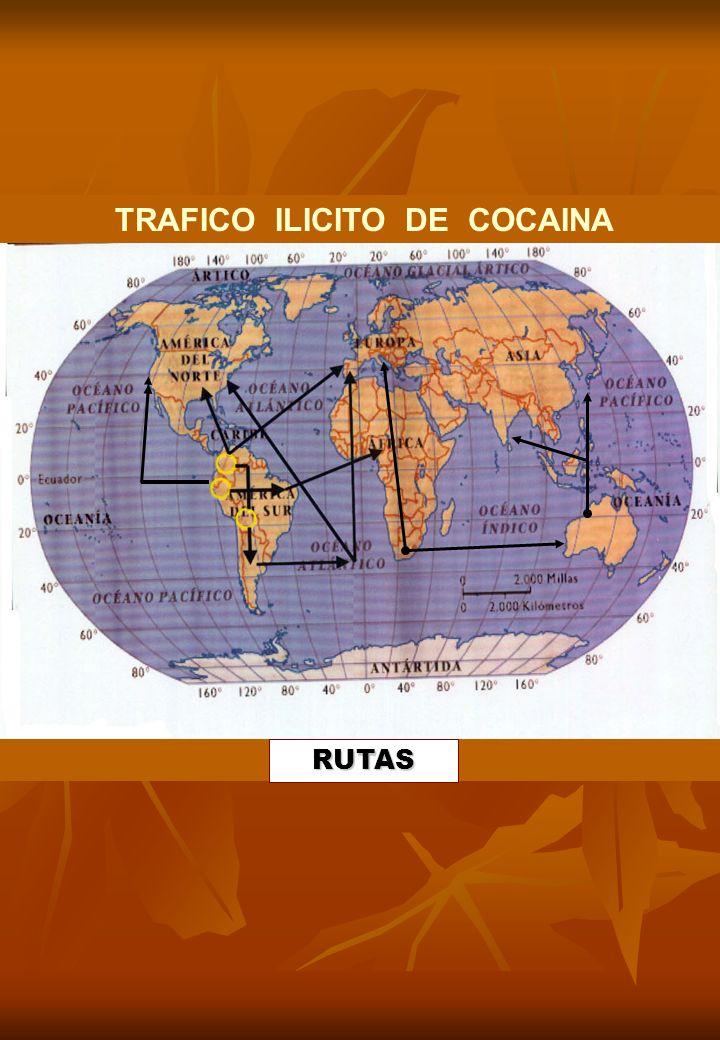 TRAFICO ILICITO DE COCAINA