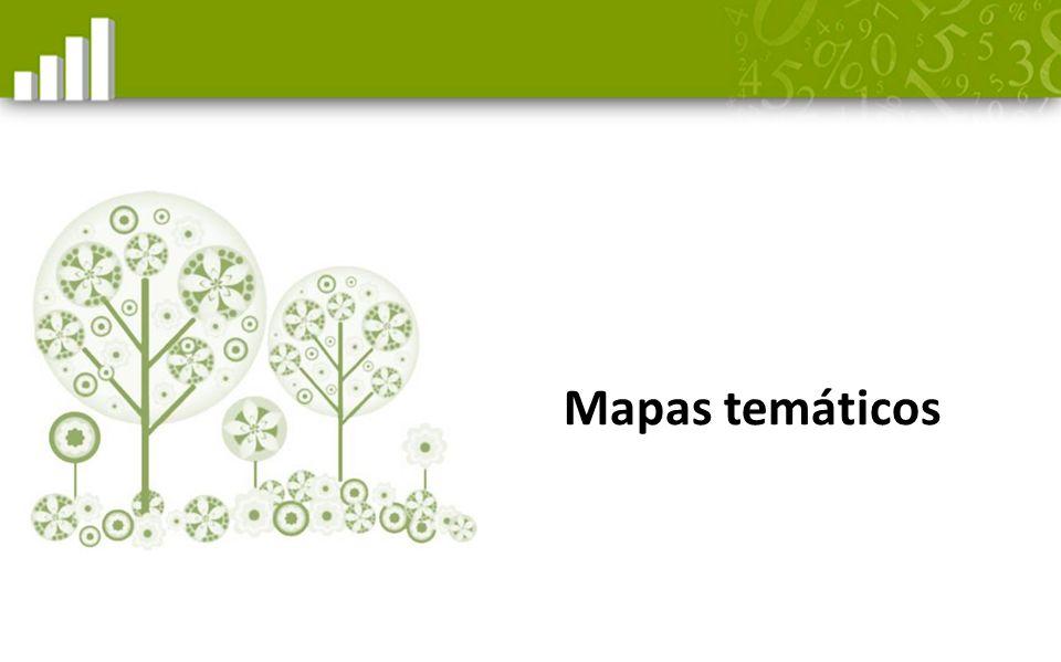Mapas temáticos Diapositiva para el contenido