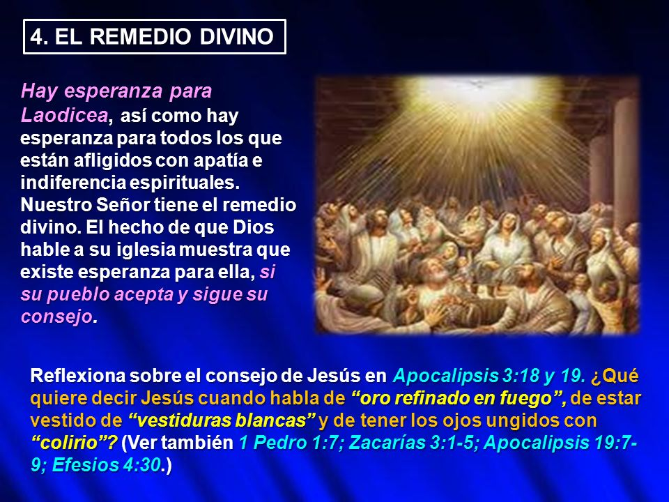 4. EL REMEDIO DIVINO