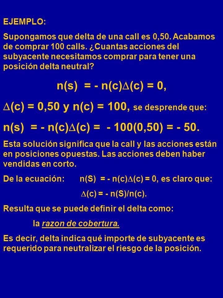 (c) = 0,50 y n(c) = 100, se desprende que: