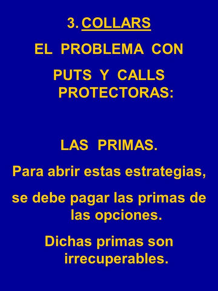 PUTS Y CALLS PROTECTORAS: