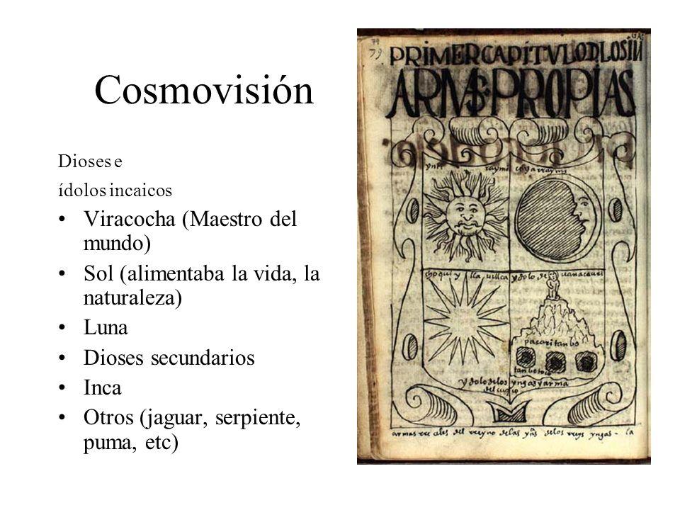 Cosmovisión Viracocha (Maestro del mundo)