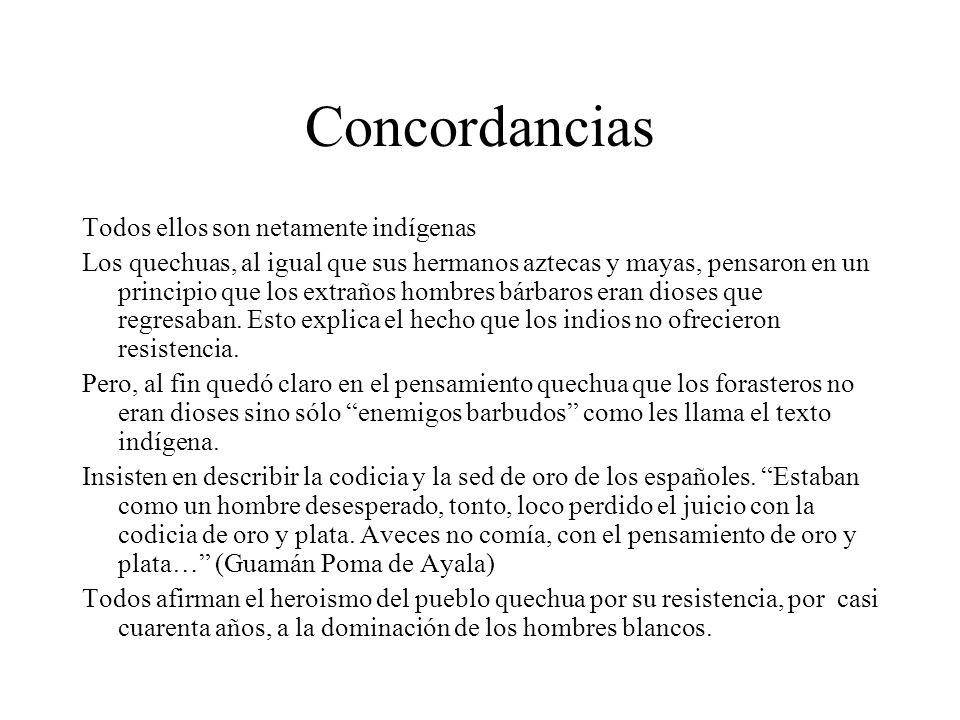 Concordancias Todos ellos son netamente indígenas
