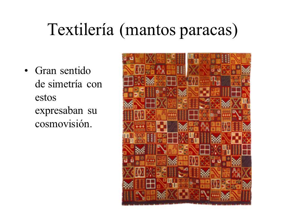 Textilería (mantos paracas)