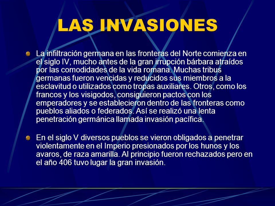 LAS INVASIONES