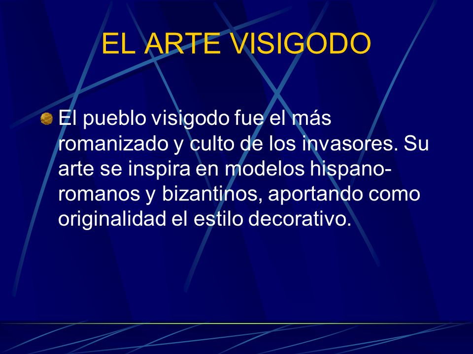 EL ARTE VISIGODO