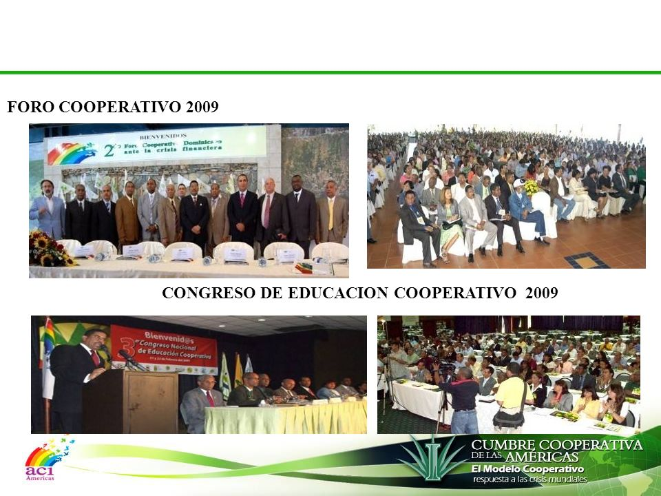 FORO COOPERATIVO 2009 CONGRESO DE EDUCACION COOPERATIVO 2009