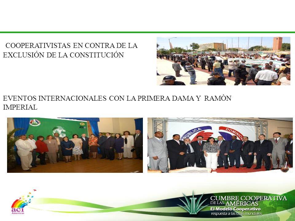COOPERATIVISTAS EN CONTRA DE LA EXCLUSIÓN DE LA CONSTITUCIÓN