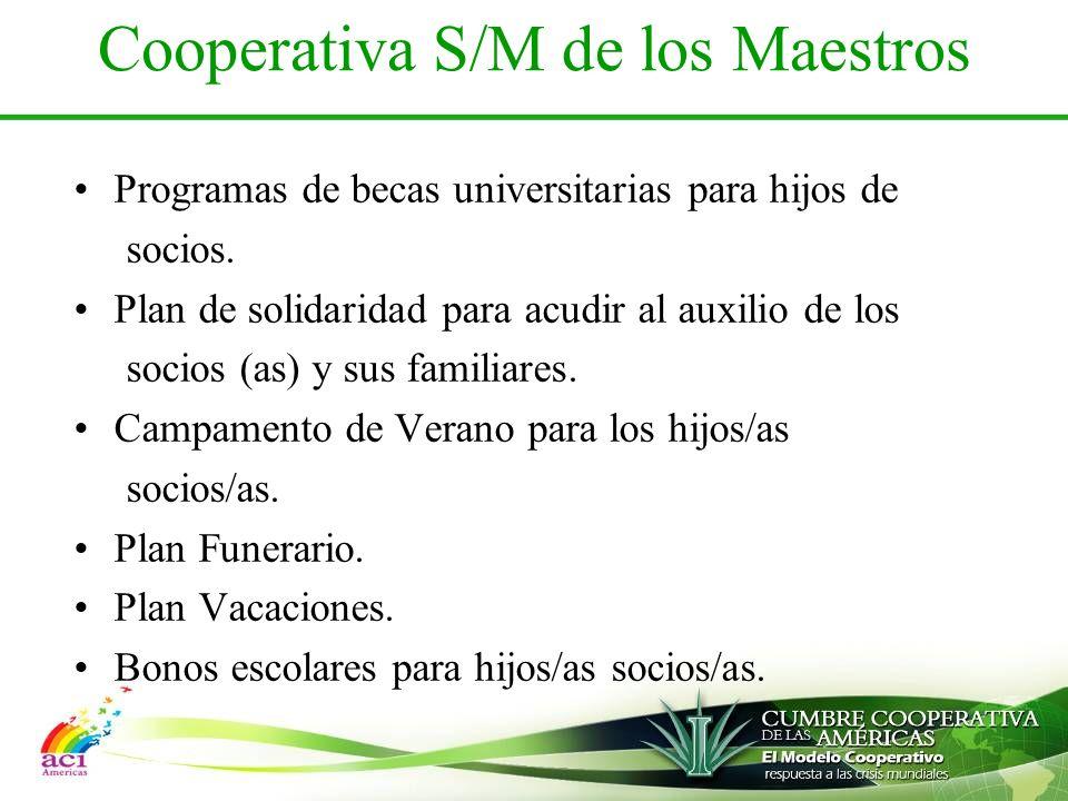 Cooperativa S/M de los Maestros