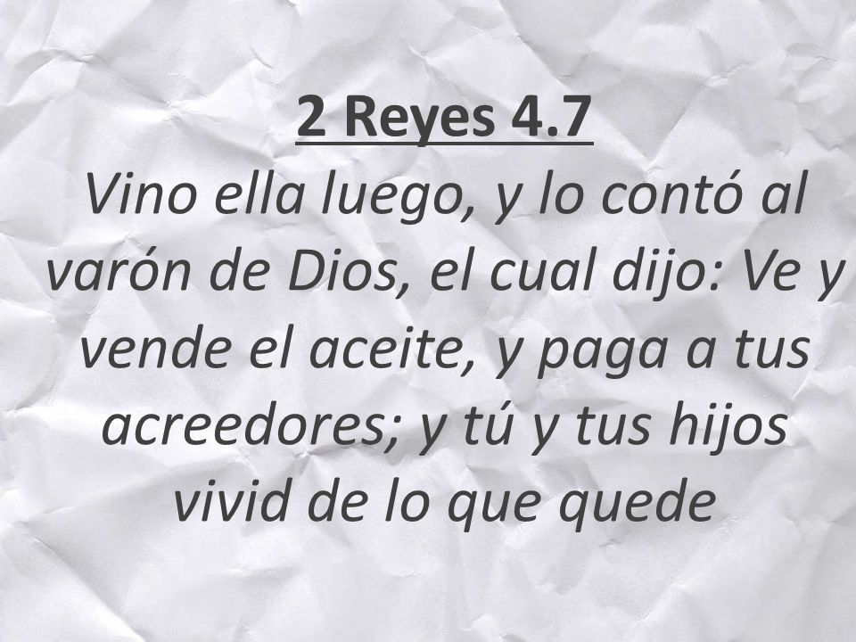 2 Reyes 4.7