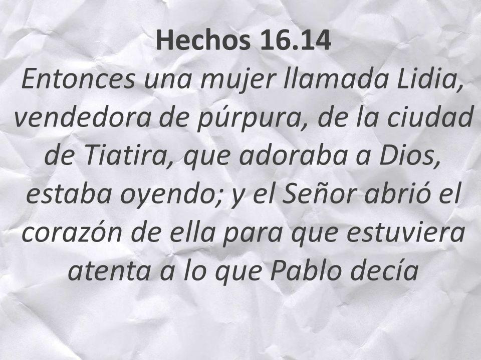 Hechos 16.14