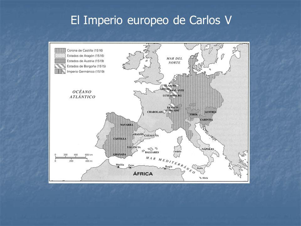 El Imperio europeo de Carlos V