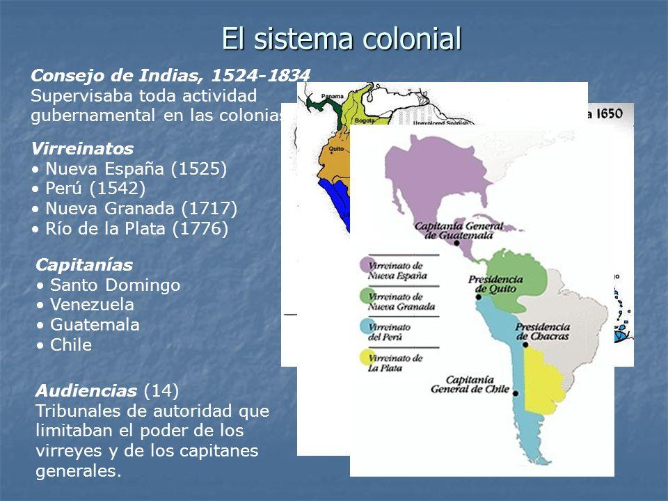 El sistema colonial Consejo de Indias, 1524-1834
