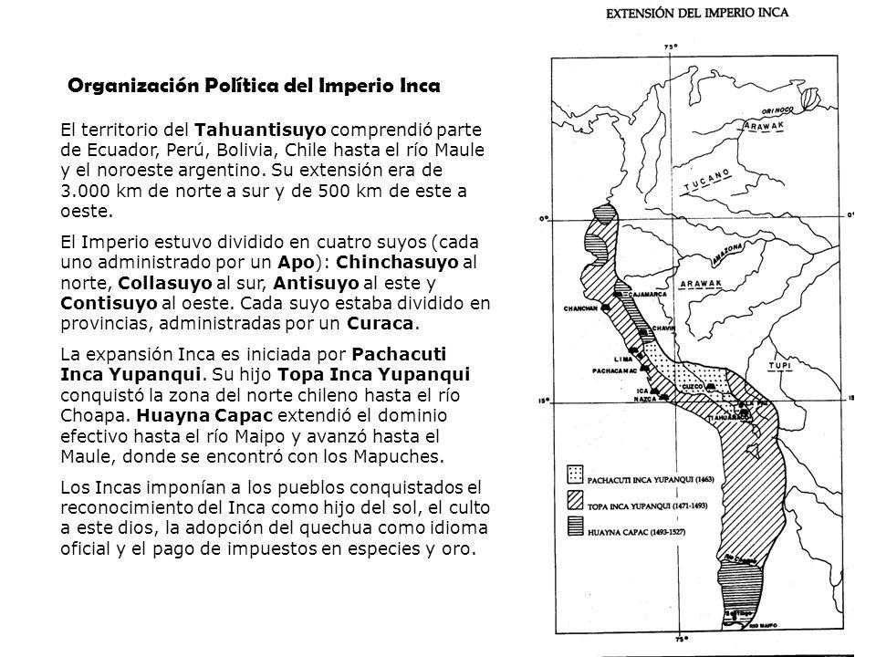 Organización Política del Imperio Inca