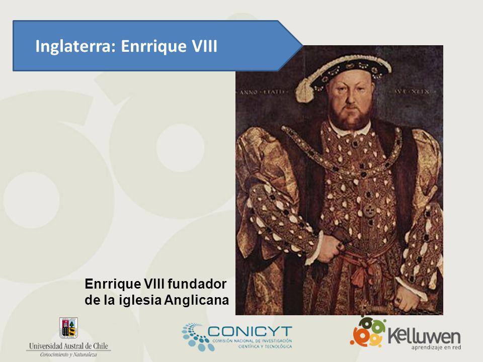 Inglaterra: Enrrique VIII