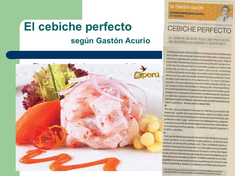 El cebiche perfecto según Gastón Acurio